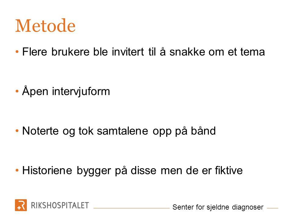 Senter for sjeldne diagnoser Balansere..