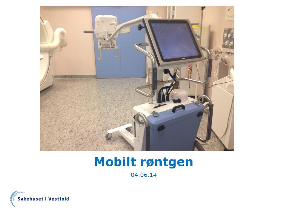 Mobilt røntgen 04.06.14