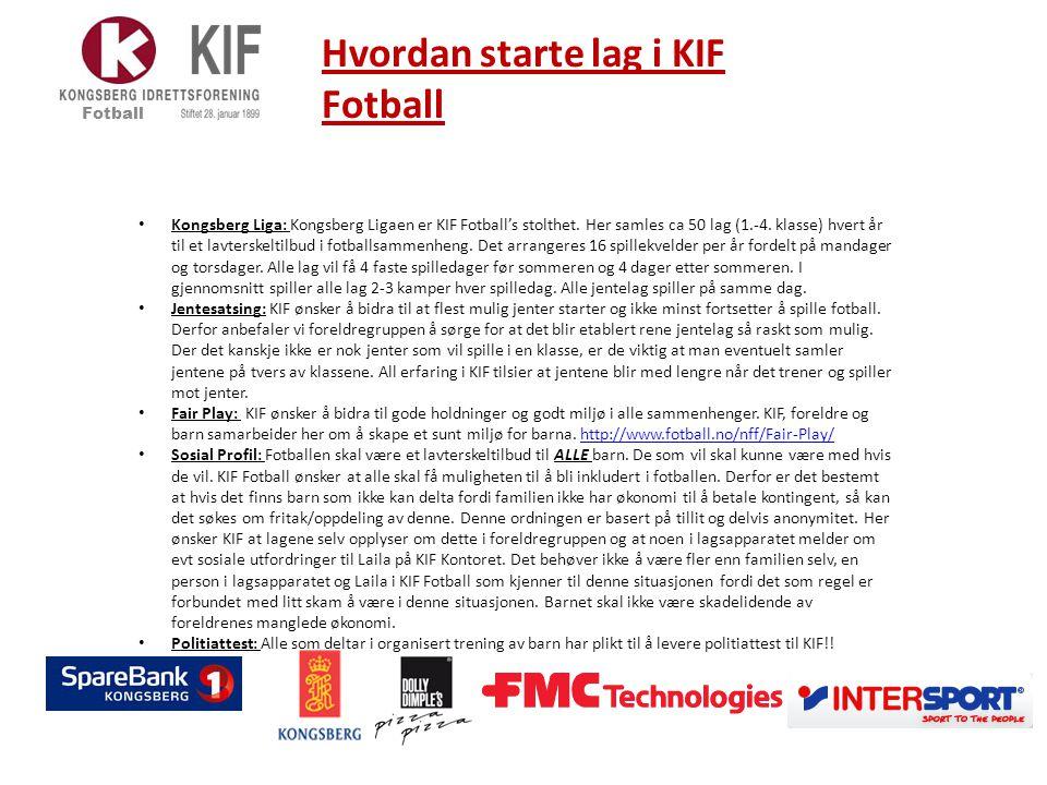 Kontingent 6- 10 år – 5er fotball Fotball KR.
