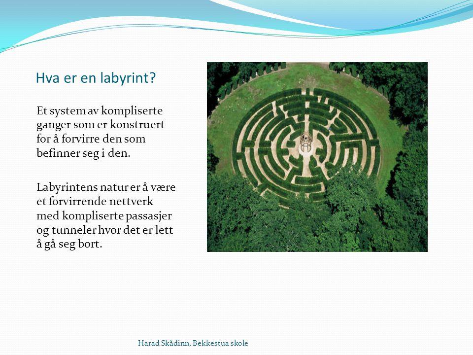 Hva er en labyrint.