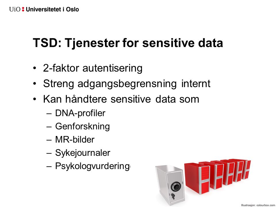 Takk for applausen! Dagfinn Bergsager, USIT Universitetet i Oslo