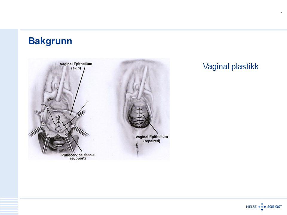 Bakgrunn Vaginal plastikk