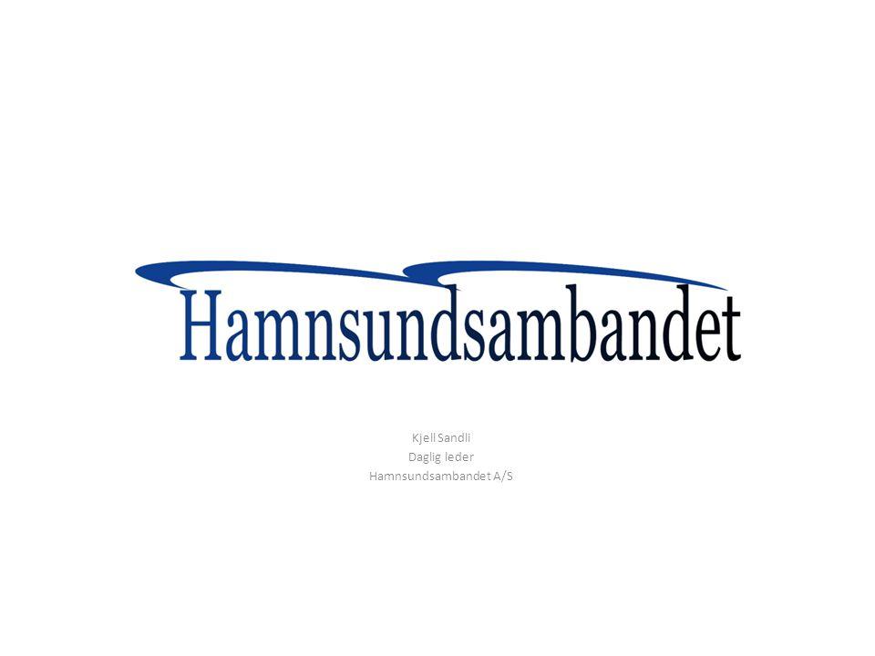 Kjell Sandli Daglig leder Hamnsundsambandet A/S