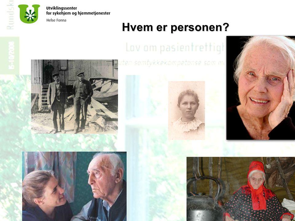 Bjørgene Omsorg- og utviklingssenter Hvem er personen?