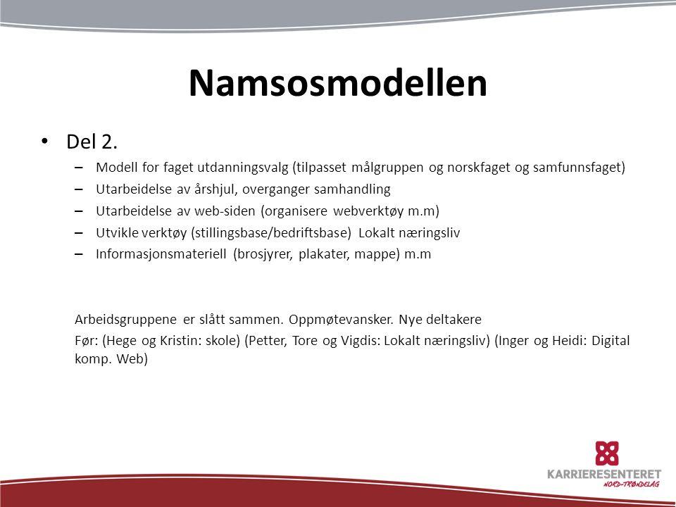 Namsosmodellen Del 2.