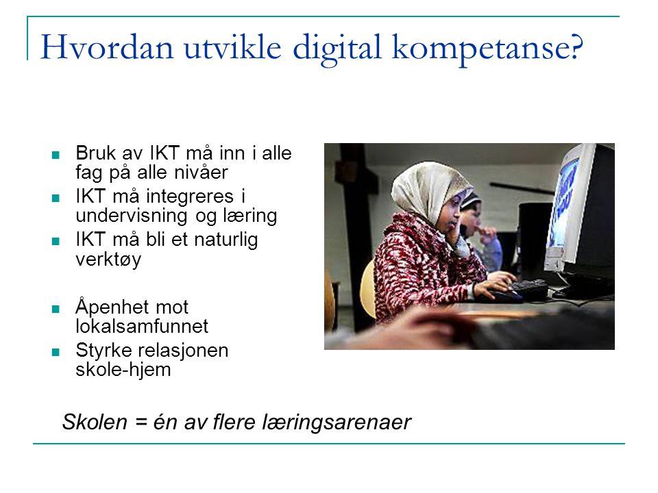 Hvordan utvikle digital kompetanse.