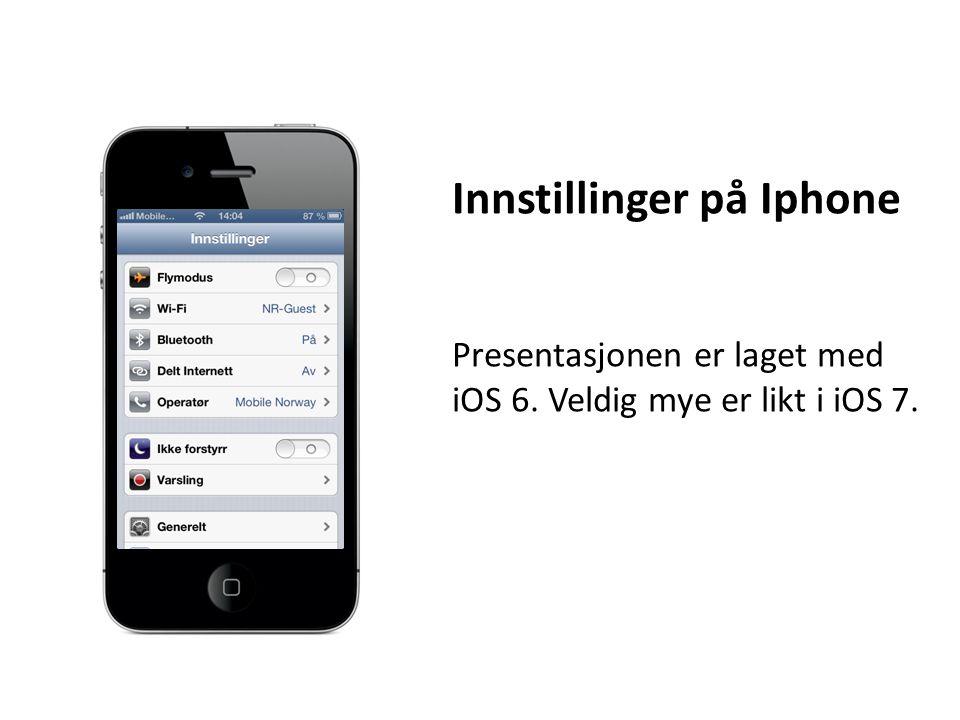 Generelt – Tilgjengelighet Læring Med Begrenset tilgang låses iPhonen til ett program.