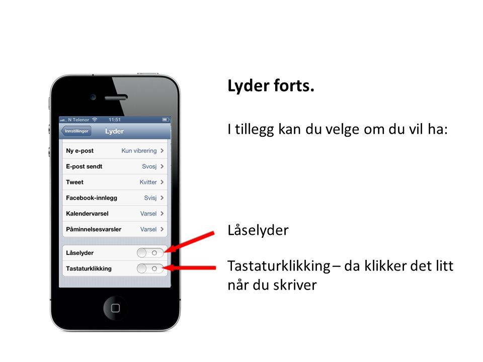 Lyder forts.