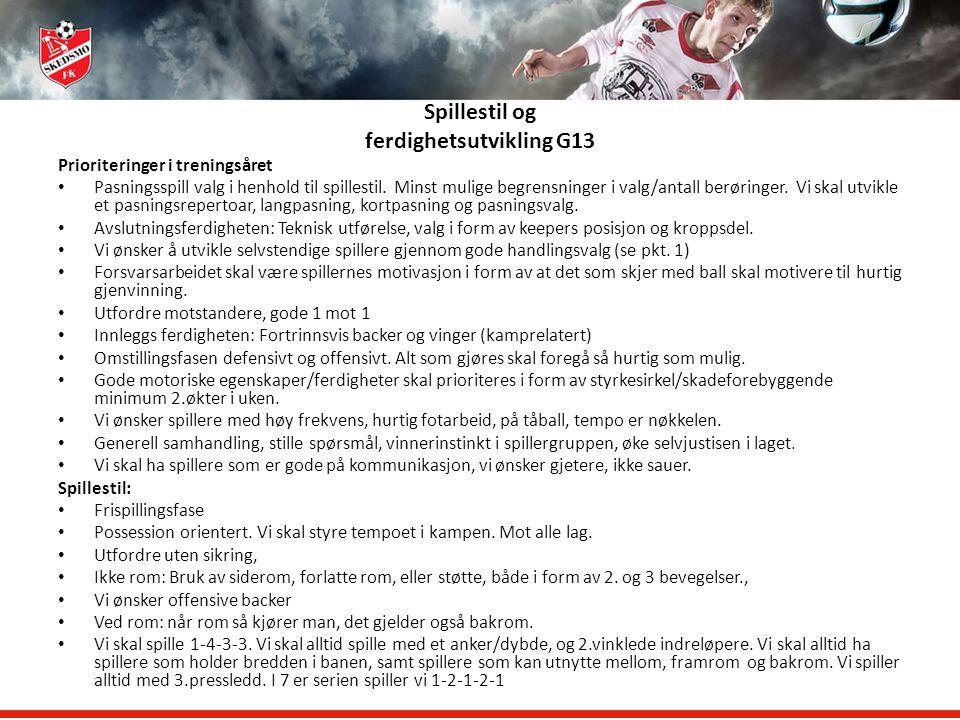Skedsmo Fotballklubb Treneren og klubbens filosofi G/J14