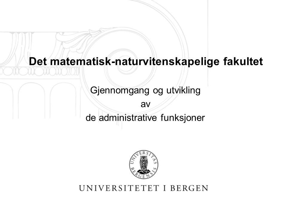 Allmøte for ALLE ADMINISTRATIVT ANSATTE ved fakultetet 13.10.04 Hva skjer???