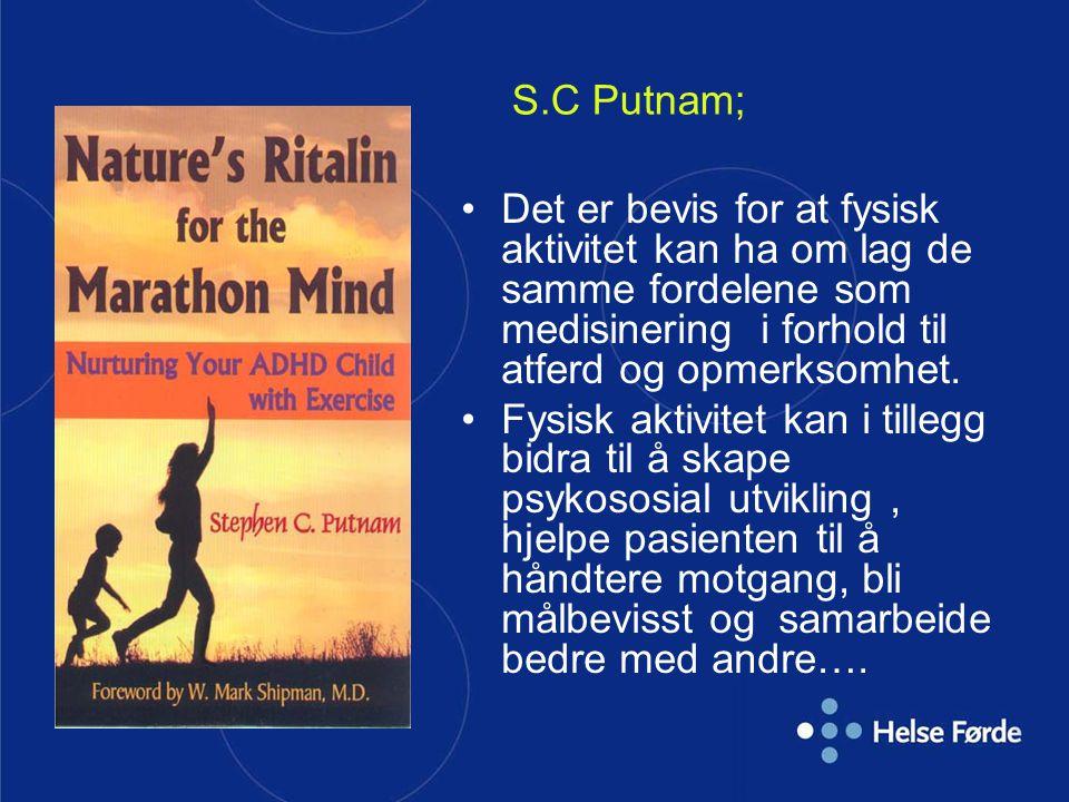 Det er bevis for at fysisk aktivitet kan ha om lag de samme fordelene som medisinering i forhold til atferd og opmerksomhet. Fysisk aktivitet kan i ti