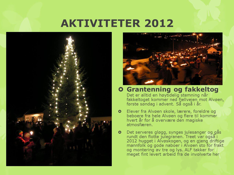 AKTIVITETER 2012 Juletrefesten Barna sto i sentrum da juletrefesten gikk av stabelen i januar.