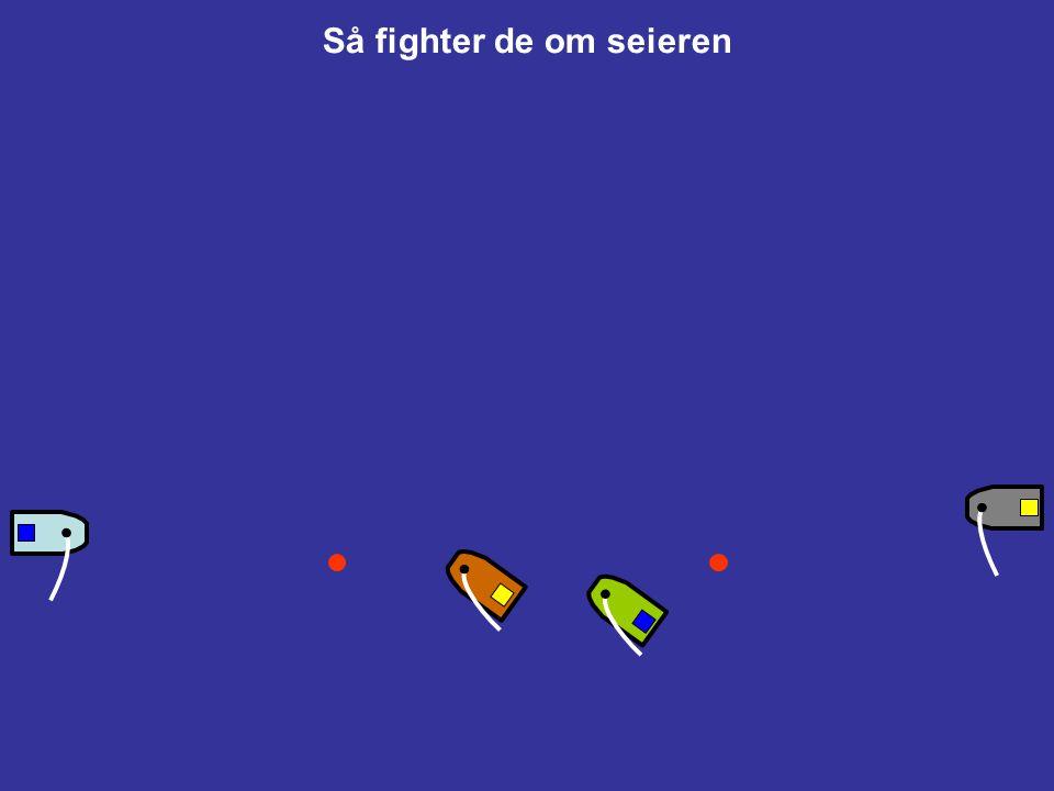 Start av MR (regel C3) Starten ! Tallstander 1 ned Tallstander 2 opp (Oppmerksomhetssignal for Match 2) Hvis mer enn en match skal seiles er deres sta