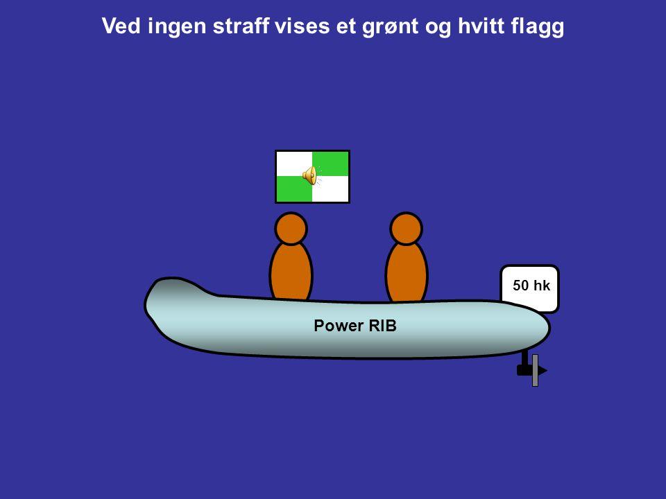 C5SIGNALER FRA MATCHDOMMERE C5.1Et grønt og hvitt flagg med et langt lydsignal betyr 'Ingen straff'. C5.2Et blått eller gult flagg som identifiserer e