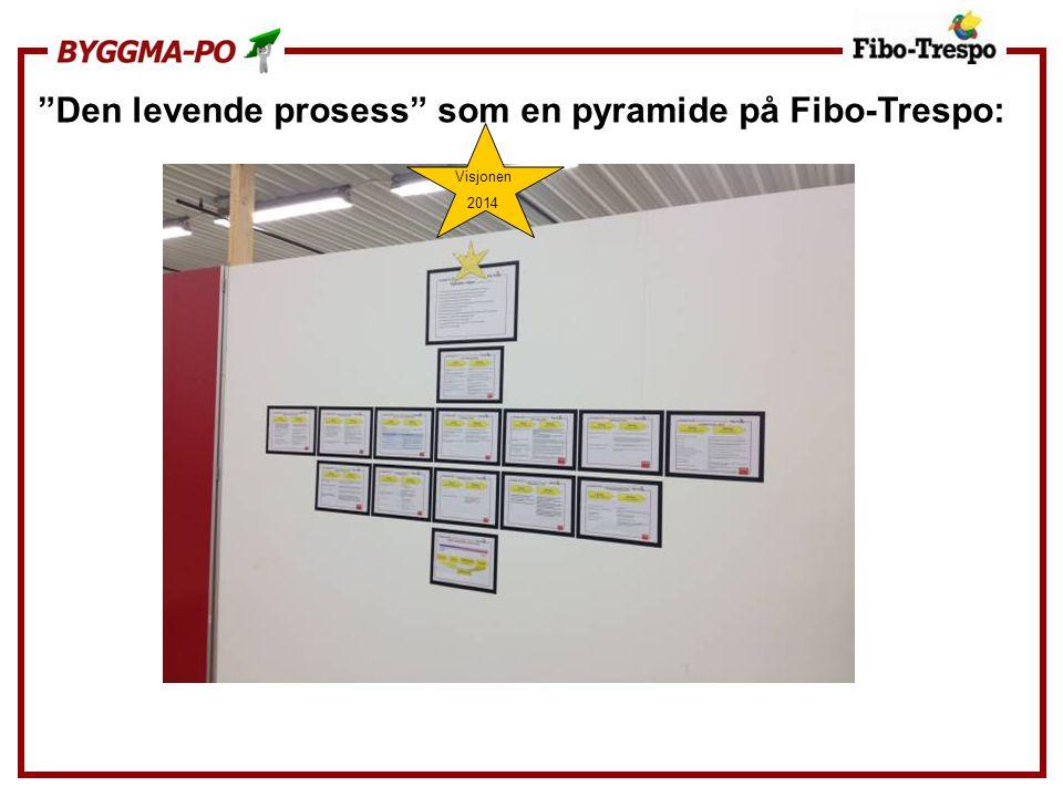 """""""Den levende prosess"""" som en pyramide på Fibo-Trespo: Visjonen 2014"""
