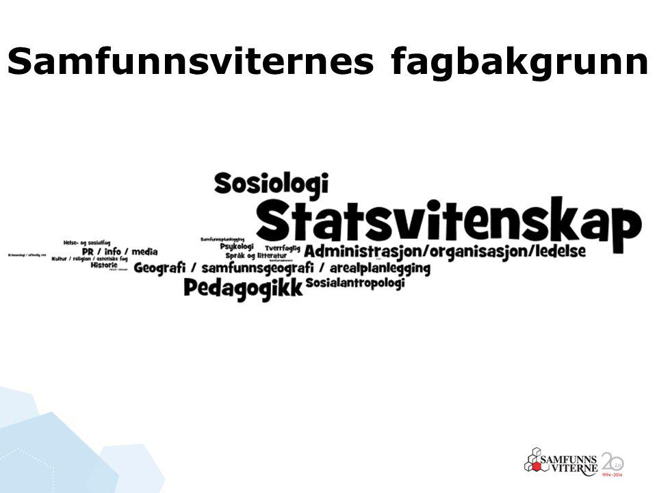 Flertallet jobber i offentlig sektor statlige virksomheter som departement, direktorat, Jernbaneverket og NAV Kommuner ; PPT, planlegging, adm.