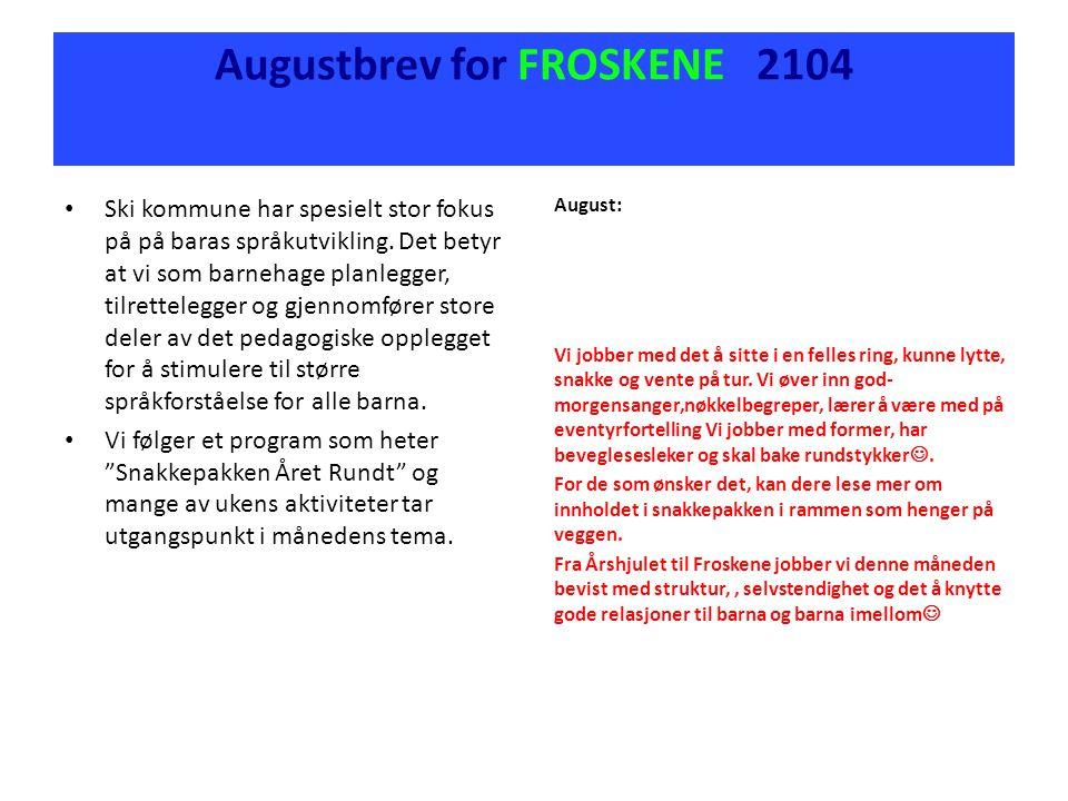 Ski kommune har spesielt stor fokus på på baras språkutvikling.