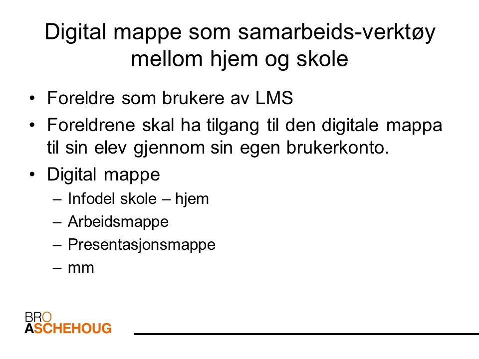 Faglig innhold i mappa Innholdet i mappa er arbeider utviklet digitalt –Dvs.