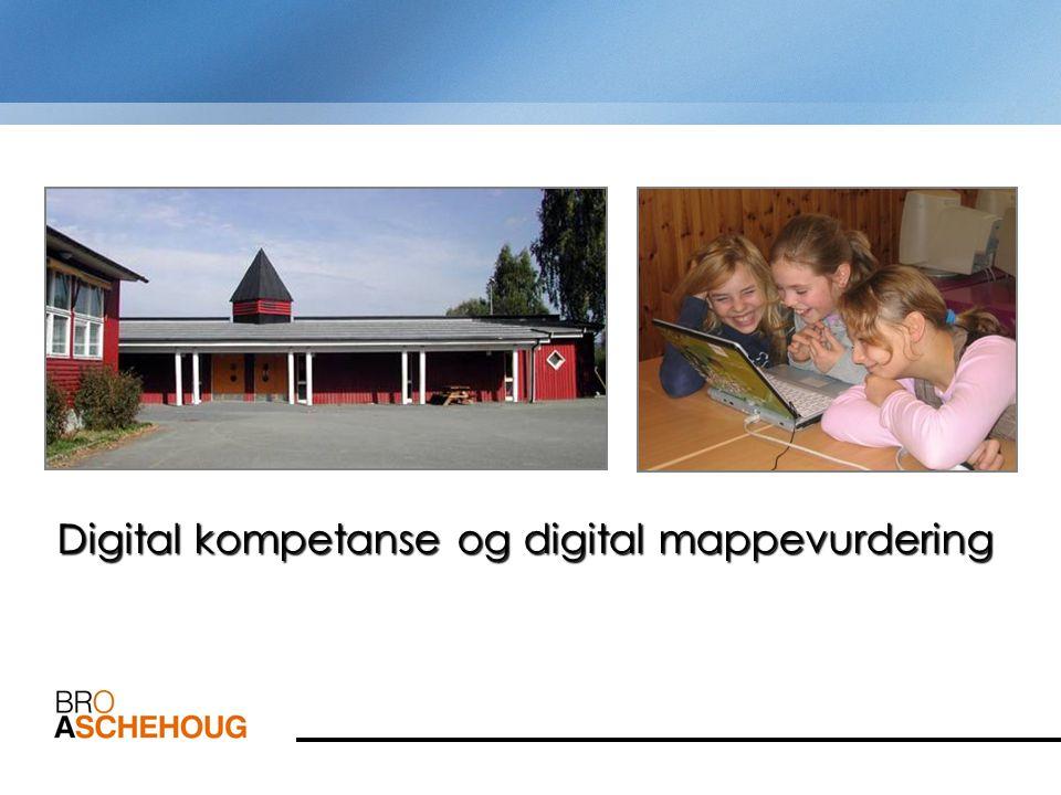 Hvorfor digitale mapper Program for digital kompetanse 2004- 2008 Digitale mapper som verktøy for å utvikle: –Digital kompetanse –Basisferdigheter i norsk, matematikk og engelsk