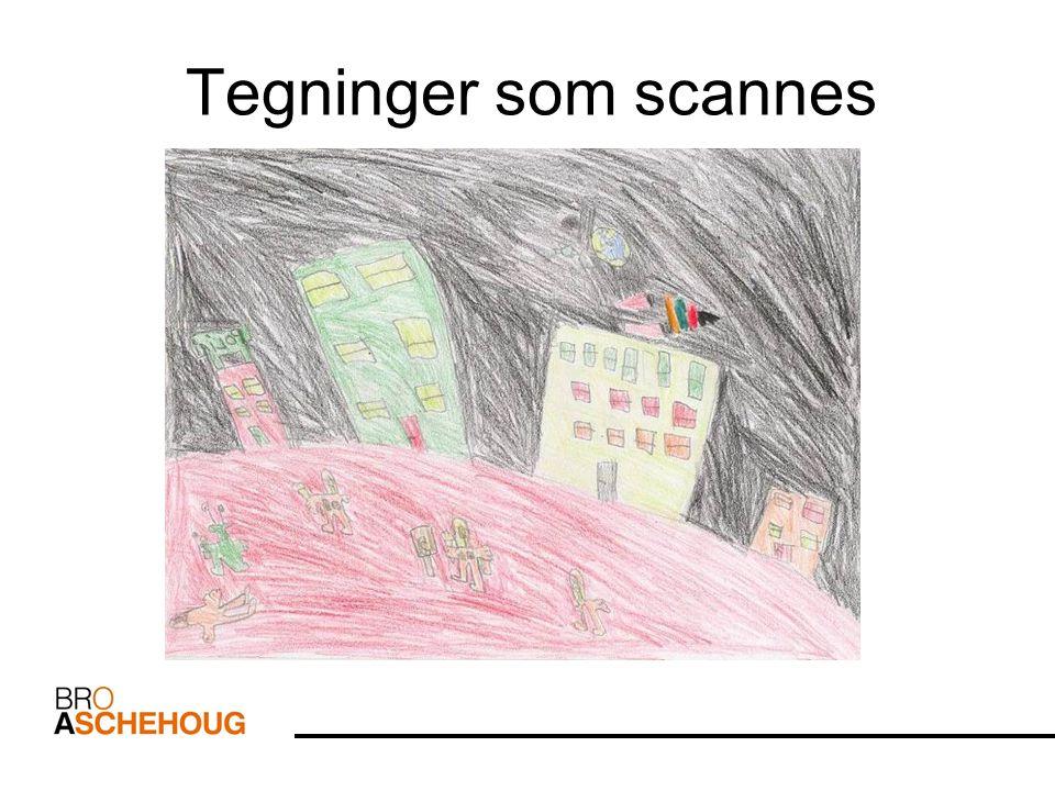 ..eller digitale tegninger