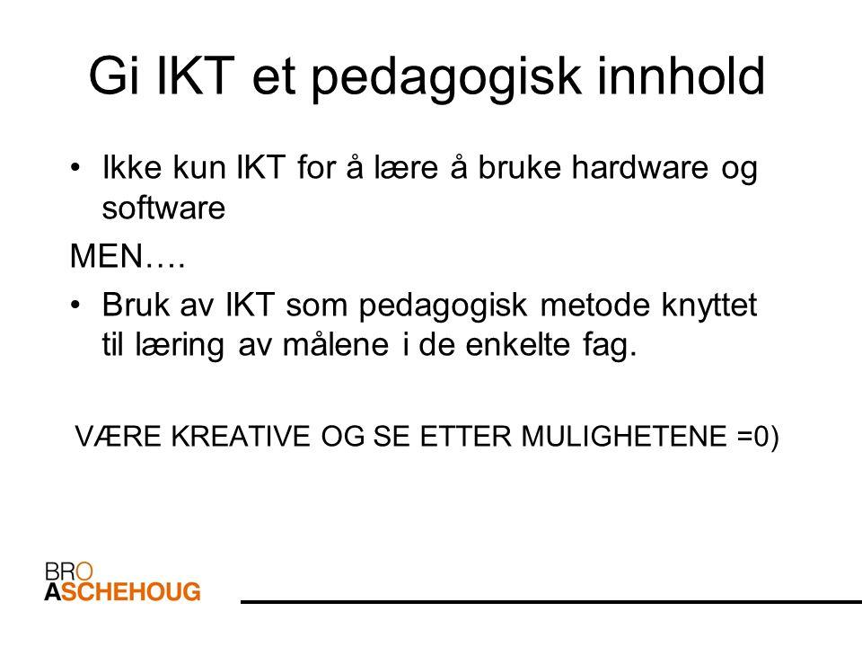 Digitale mapper - Drammen Utviklingsgruppen i Drammen jobber med å lage nye digitale mapper for elevene.