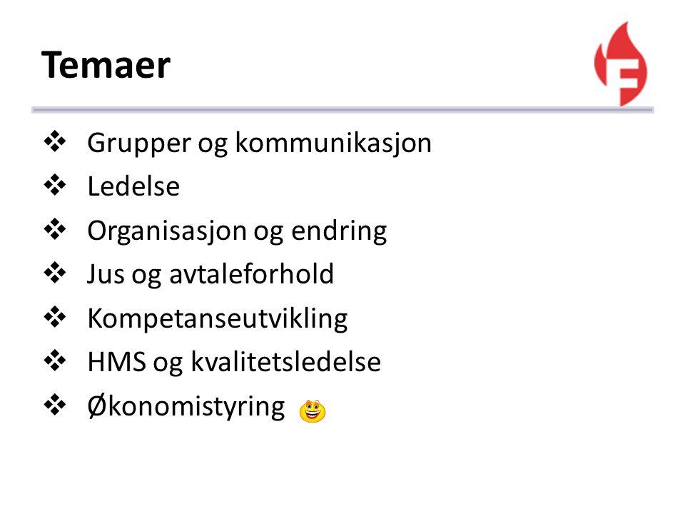 Eksamen  Eksamen ved Teknisk Fagskole er obligatorisk for deltakere fra Finnfjord AS.