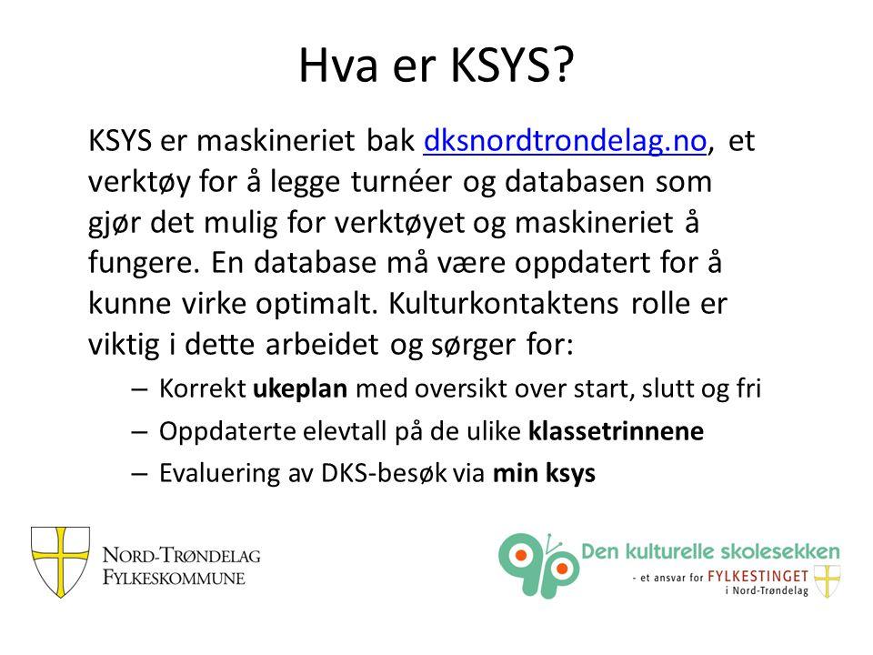 Hva er KSYS.