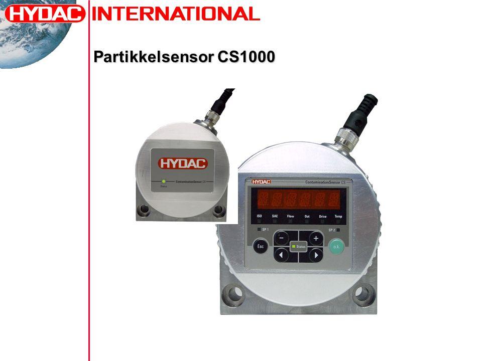 Partikkelsensor CS1000