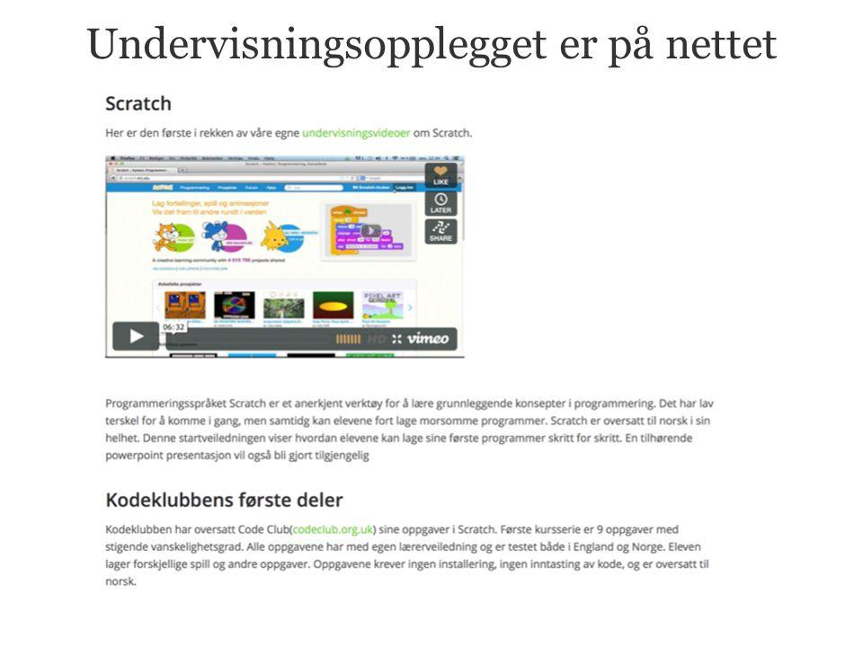 Vi tilbyr norske instruksjonvideoer