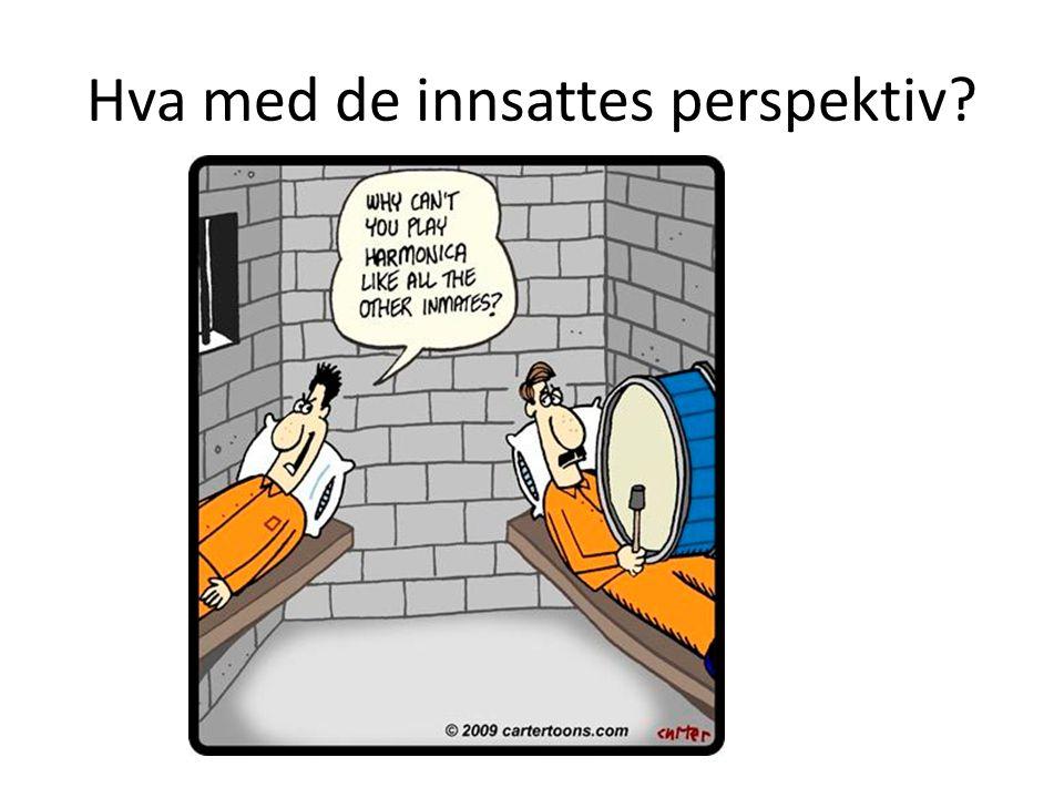 Hva med de innsattes perspektiv?