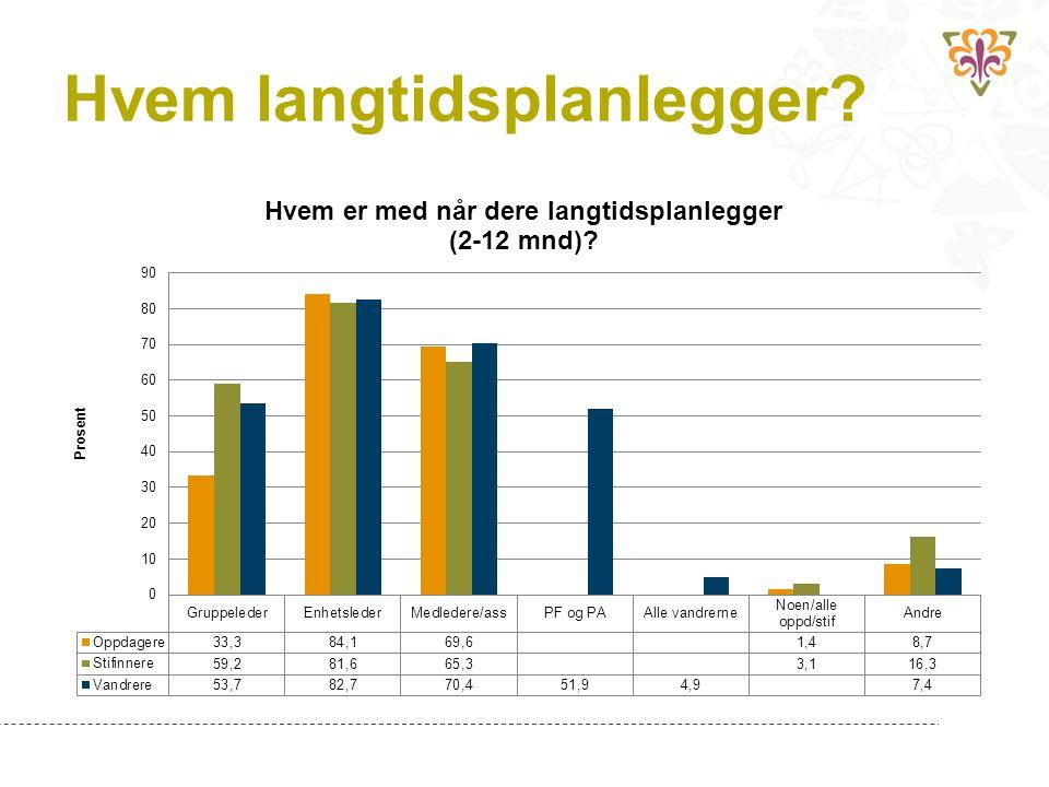 Lederundersøkelsen 2013: Langtidsplanlegging