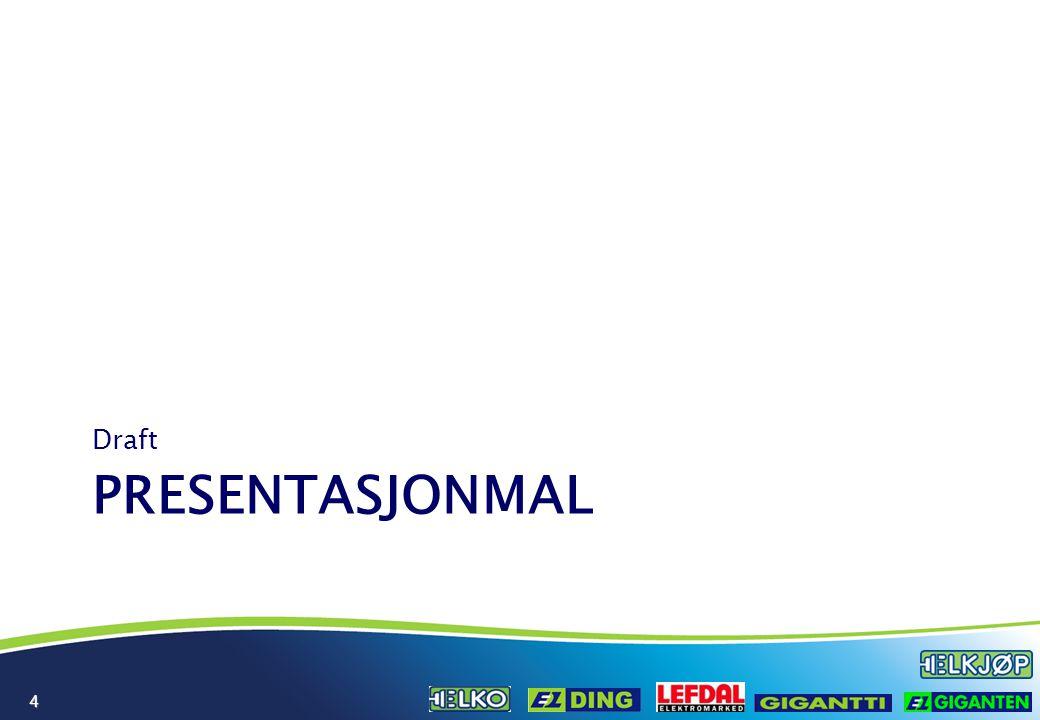 Presentasjon av fremtidsplan for [avd.navn] Ledersamling - Elkjøp Nordic 25.