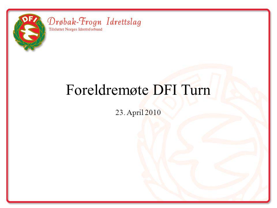 DFI Turn - Historie 1.Etablert i 1918 (Damer fra 1934) 2.Har ca.