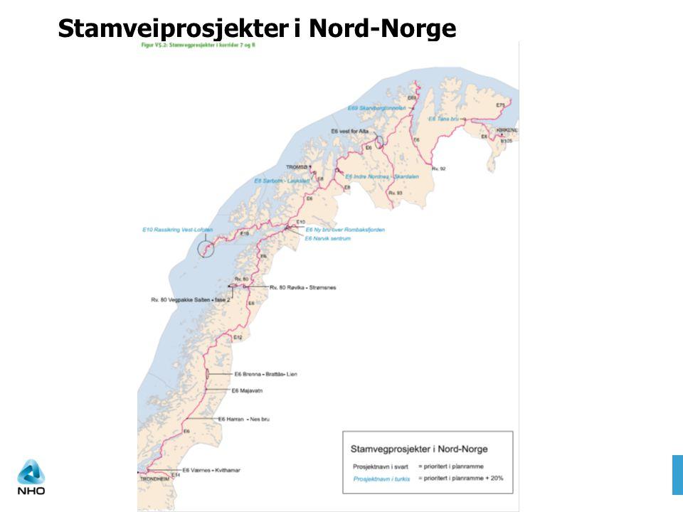 Stamveiprosjekter i Nord-Norge