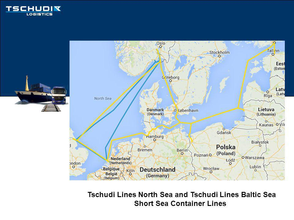 Tschudi Logistics Door To Door Service extends the reach of our Short Sea Container Lines through Intermodal Operations