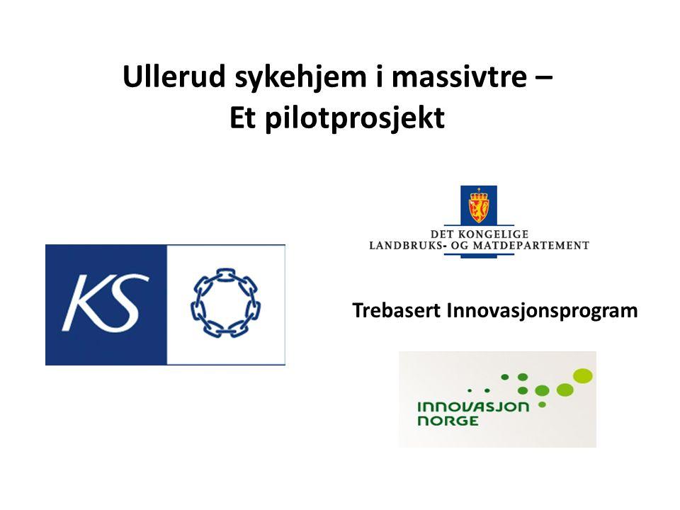 Trebasert Innovasjonsprogram Ullerud sykehjem i massivtre – Et pilotprosjekt