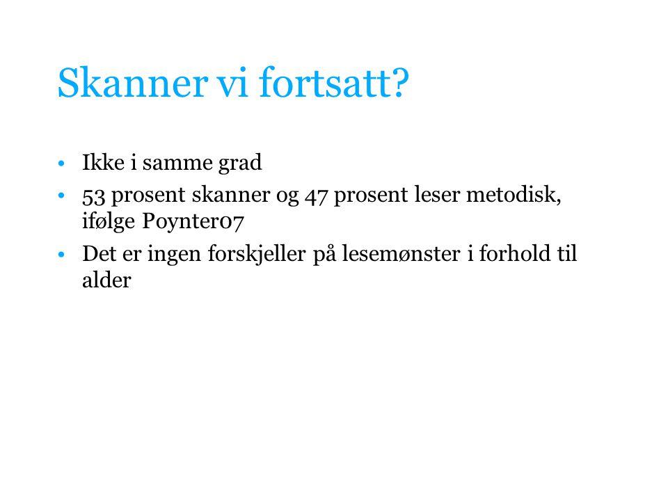 Jakob Nielsens F-mønster