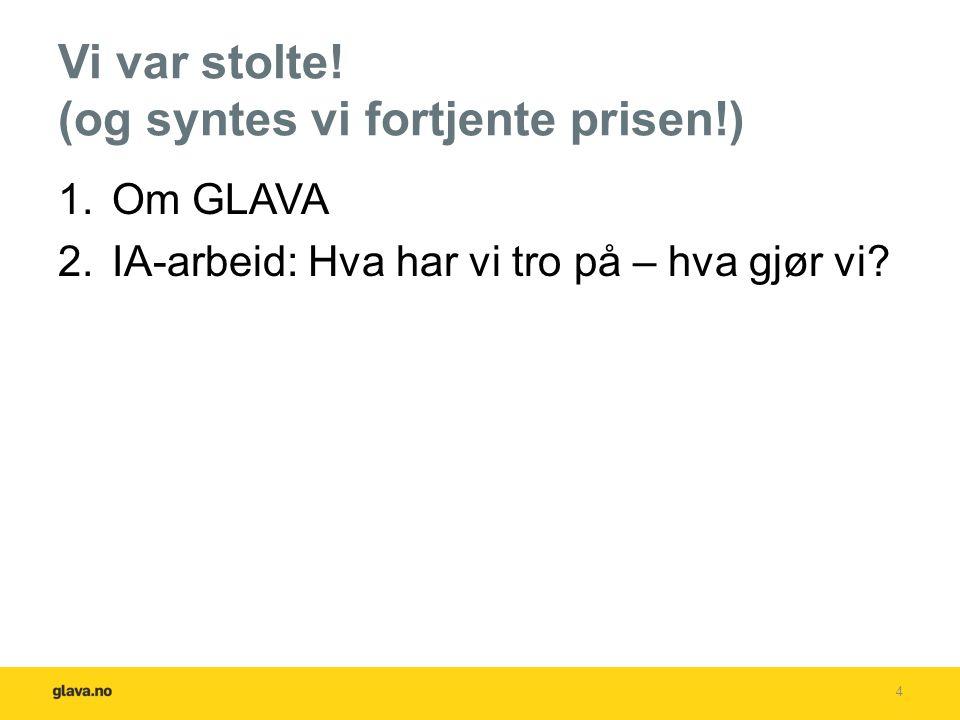 GLAVA® før, nå og i fremtiden Fra 1935 og frem til i dag har Glava AS levert førsteklasses isolasjon til norske byggeplasser