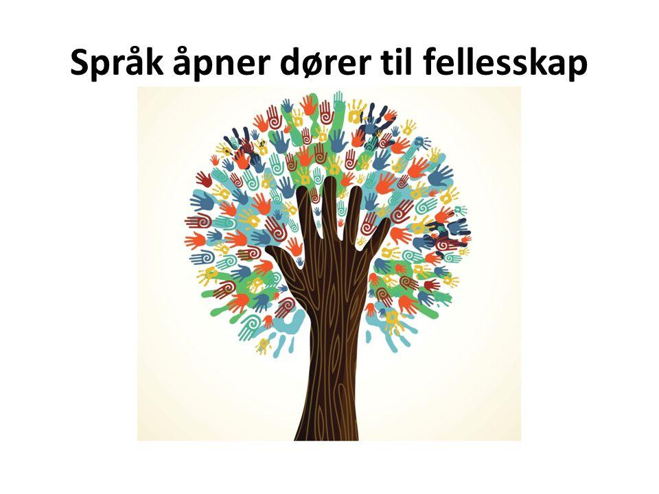 Språk åpner dører til fellesskap