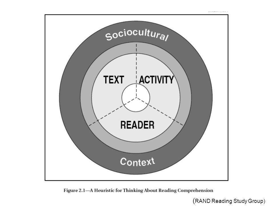 Reader Ordavkoding Forkunnskaper Vokabular Kunnskap om tekster Metakognisjon Motivasjon og interesse