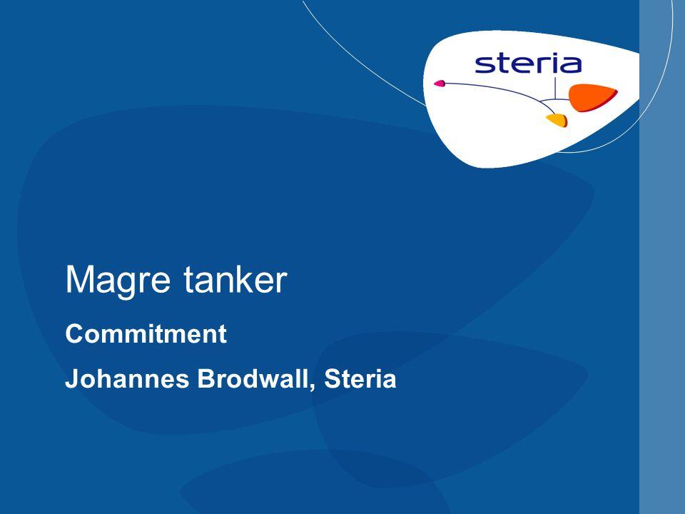 Magre tanker Commitment Johannes Brodwall, Steria