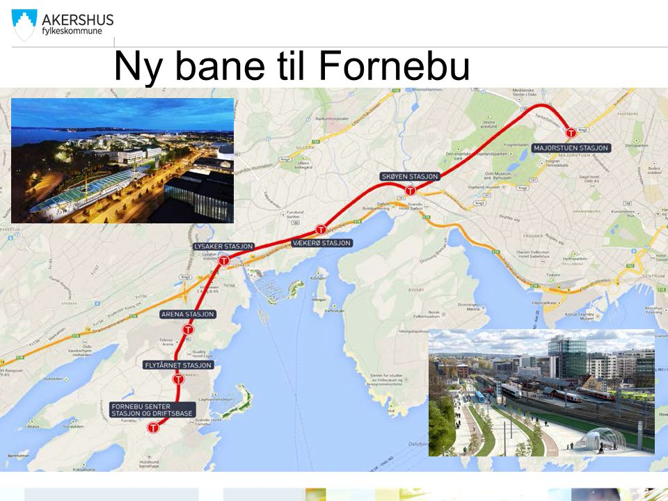Ny bane til Fornebu