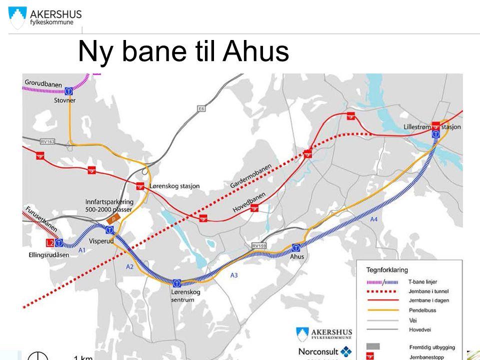 Ny bane til Ahus