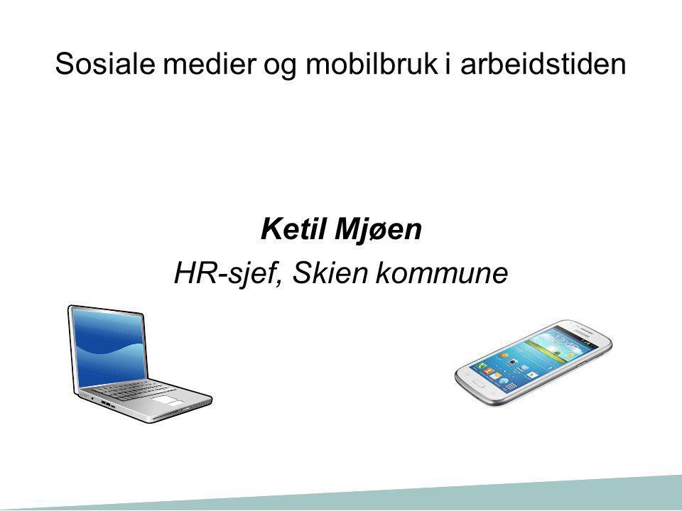 Ketil Mjøen HR-sjef, Skien kommune