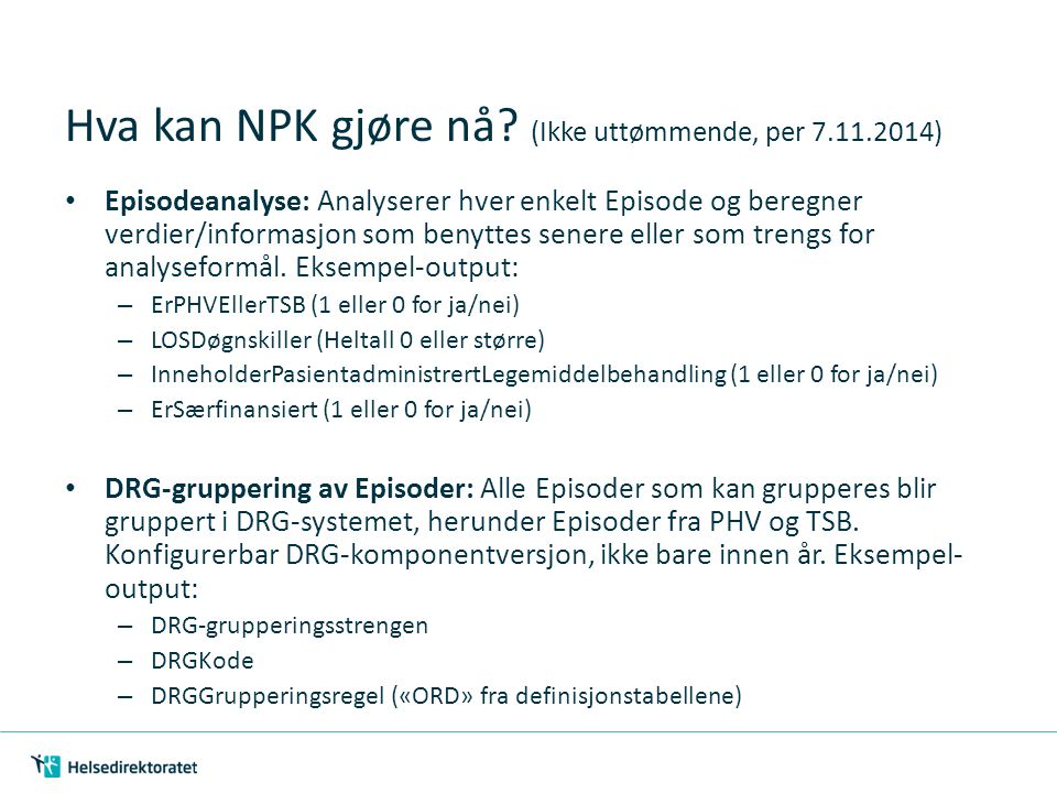 NPK som 64-bits-komponent – Et problem.