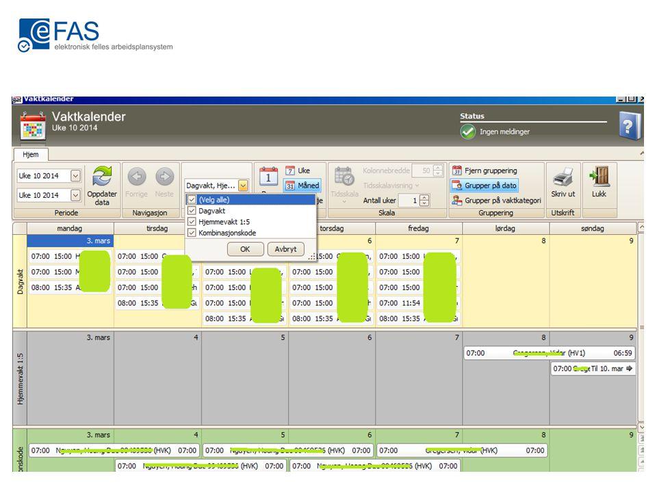 Hjelpeplan Det er nå mulig å få med oppgaver som er tildelt i en normalplan over i en ny kopi av planen eller i en generert hjelpeplan.