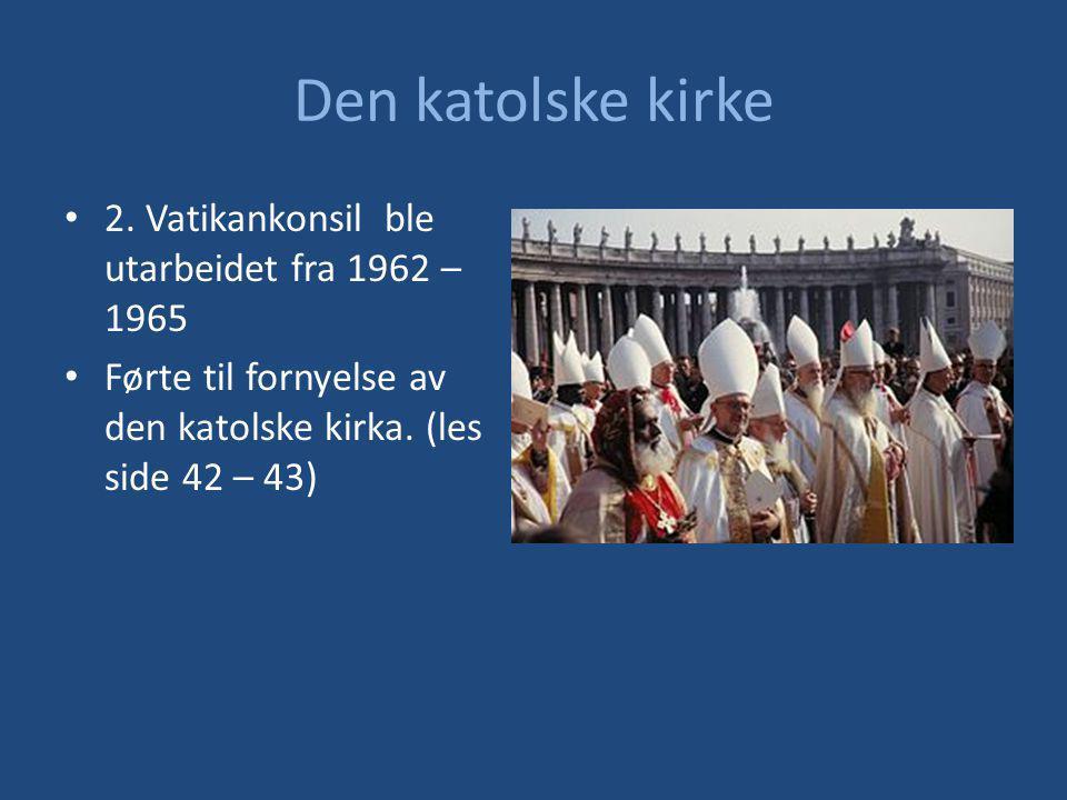 Den katolske kirke 2.