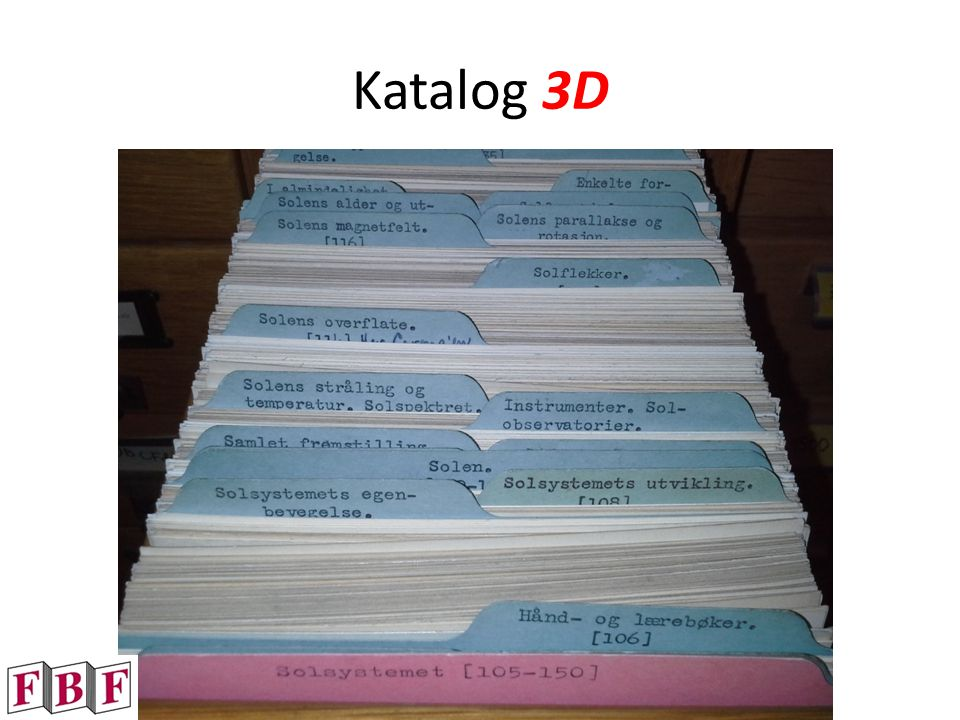 Katalog 3D