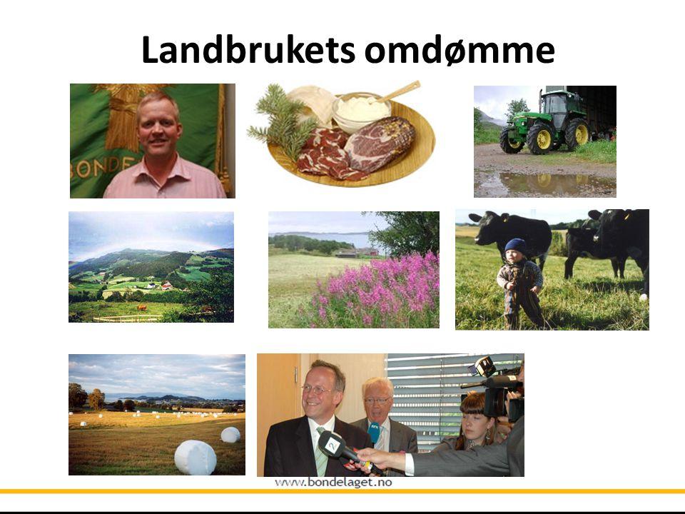Landbrukets omdømme