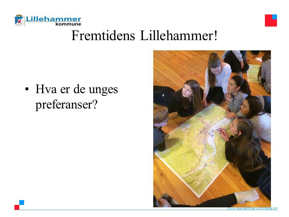 www.lillehammer.kommune.no Fremtidens Lillehammer! Hva er de unges preferanser?